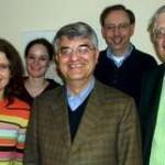 Teilnehmer von links nach rechts: Mag. Dafft, Frau Schulte, Dr. Langensiepen, Mag. Krieger, Prof. Zelger.