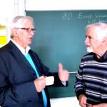 Josef Zelger im Gespräch mit Rudolf Wille, dem Urheber der Formalen Begriffsanalyse und Begründer des Ernst-Schröder-Zentrums